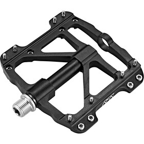 Cube RFR Flat SLT Pédales, black'n'black